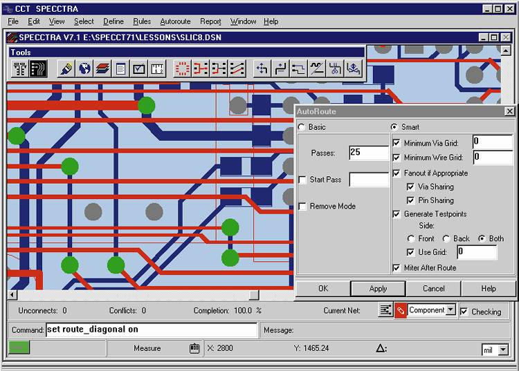 проектирования электронных