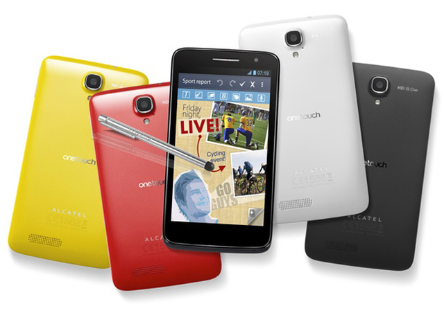 Alcatel One Touch Scribe HD — альтернатива Samsung Galaxy Note II за 400 долл.
