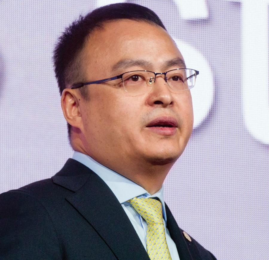 Генеральный директор Huawei Enterprise в регионе Евразия Сяо Хайцзюнь