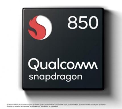 Snapdragon 850 включает восемь ядер Kryo 385 с увеличенной до 2,96 ГГц максимальной частотой