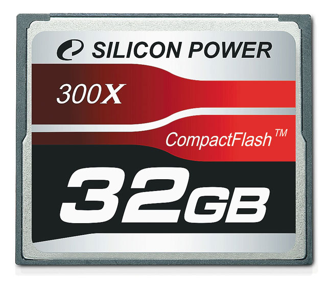 Silicon Power Compact Flash Card 300X Professional 32GB