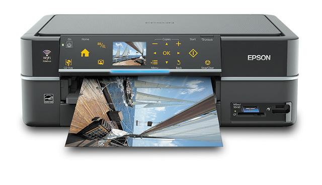 Липецк Купить МФУ струйное Epson Stylus Photo PX720WD отзывы характеристики описания свойства A4, 5760*1440dpi, 40/40стр/мин, 6