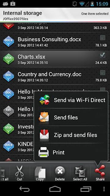 Скачать OfficeSuite в вариантах Версия 5.1.515