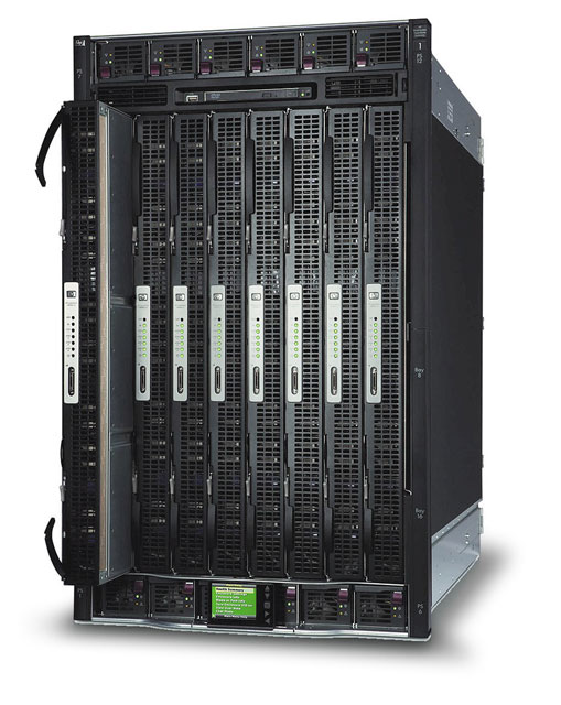 Шасси HP Integrity Superdome 2
